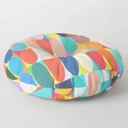Colourful Dots Floor Pillow