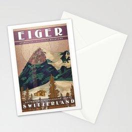Switzerland Eiger Stationery Cards