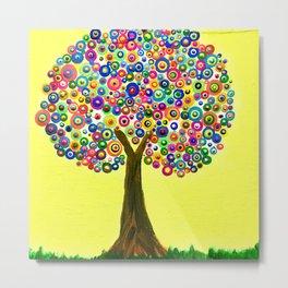 Summer Tree Metal Print