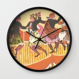 Kilt Wall Clock