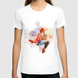 Kuriyama Mirai fanart print T-shirt