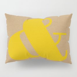 Ampersand Pillow Sham
