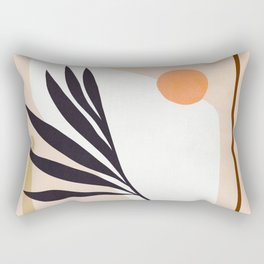 The Shapes of Nature 1 - Earthy Rectangular Pillow