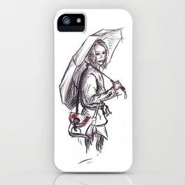 Under my umbrella iPhone Case