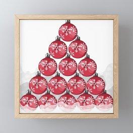 Christmas tree Framed Mini Art Print