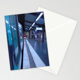 Paris urban metro Stationery Cards