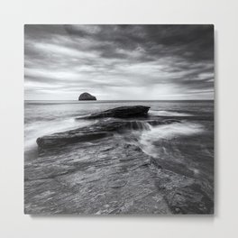 By the Rocky Shore II Metal Print