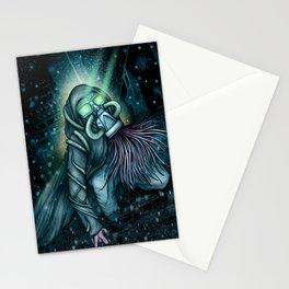 Mutant Gasmask Stationery Cards