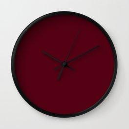 Dark Burgundy - Lowest Price On Site Wall Clock