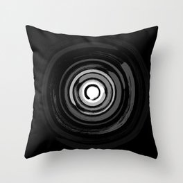 Enso Circles - Zen Circles #2 Throw Pillow