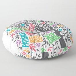 Fruit Of The Spirit (Full Color) Floor Pillow