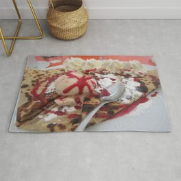crepe deliciousness Rug