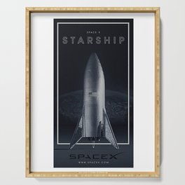 SpaceX / The Starship Serving Tray