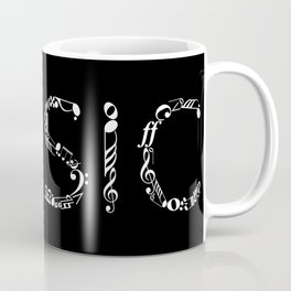 Music typo - inverted Coffee Mug