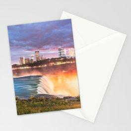 Niagara Falls: The Flow Aglow Stationery Cards