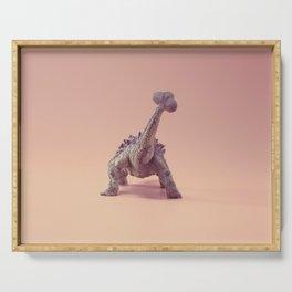 Ankylosaurus's butt Serving Tray