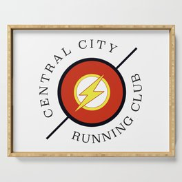 Central City running club Serving Tray
