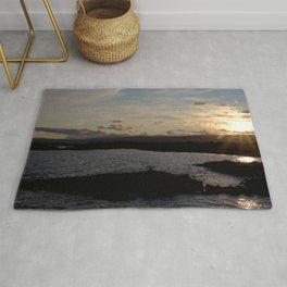 Watercolor Sunset, Janes Island 15, Maryland Rug