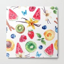 fresh fruits Metal Print