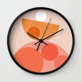 Abstraction_Balance_Round_Minimalism_001 Wall Clock