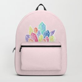Crystals Pink Backpack