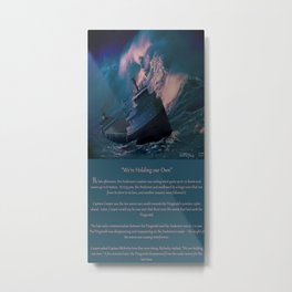 The Edmund Fitzgerald Metal Print