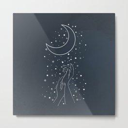 Reaching The Moon Metal Print