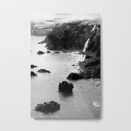Azores coastal landscape Metal Print