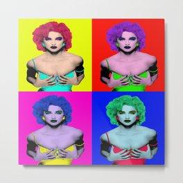 Madonna Pop Art2 Metal Print