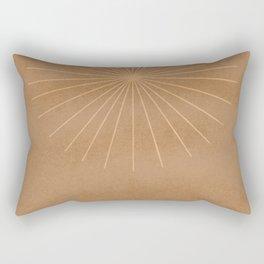 Start on top of archs - minimal boho art Rectangular Pillow