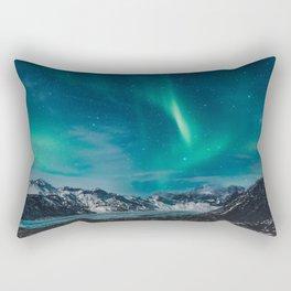 Chasing Aurora Rectangular Pillow