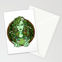 Ayahuasca Spirit Shaman Stationery Cards