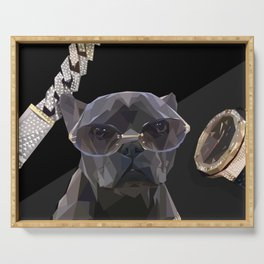 Ballin Frenchie Serving Tray