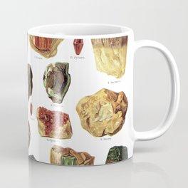 Vintage Gems And Minerals Coffee Mug