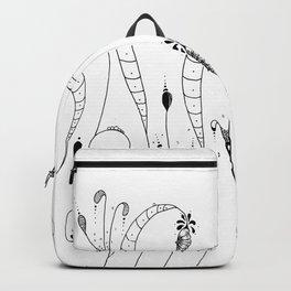 Cocoon Garden Doodle Art Backpack