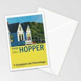 Edward Hopper - Second Story Sunlight - Minimalist Exhibition Art Poster Stationery Cards