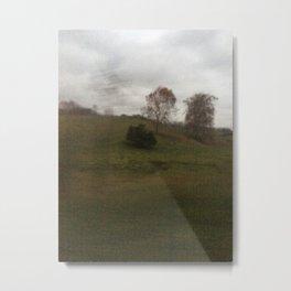 Blur Rain 6 Metal Print