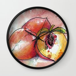 Peachy Wall Clock
