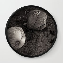 A Clam & A Barnacle Wall Clock