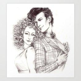 Dr Who Song Art Print