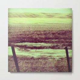 Fabric of the Earth Metal Print