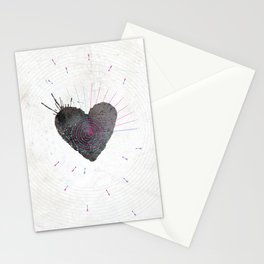 your heart is my target Stationery Cards