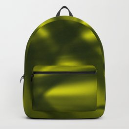 A flowing pattern of smooth yellow lines on the fibers of the veil with light luminous transitions. Backpack