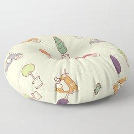 Scooters Floor Pillow