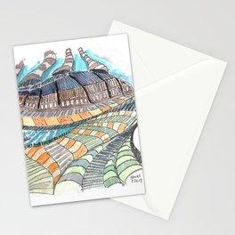 Meandering Landscapes: Loose Spiral Stationery Cards