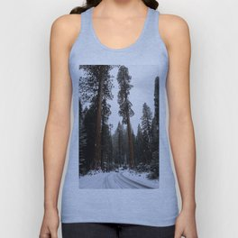 Entering the Giant Forest Unisex Tank Top