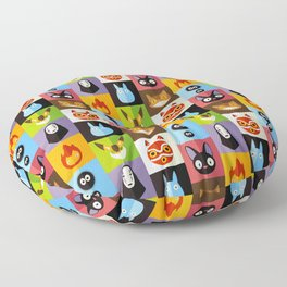 Miyazaki's Floor Pillow