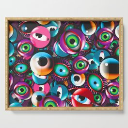 Monster Eyes Party Serving Tray