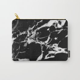 Black Marble #13 #decor #art #society6 Carry-All Pouch