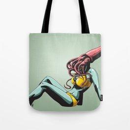 Squid Maiden Tote Bag